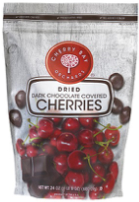 Shoreline Fruit, LLC. Recalls Select Bulk and Retail Dark Chocolate Covered Cherry Products Due to Possible Undeclared Milk Allergen